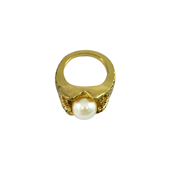 CLAW WITH PEARL RING - product image