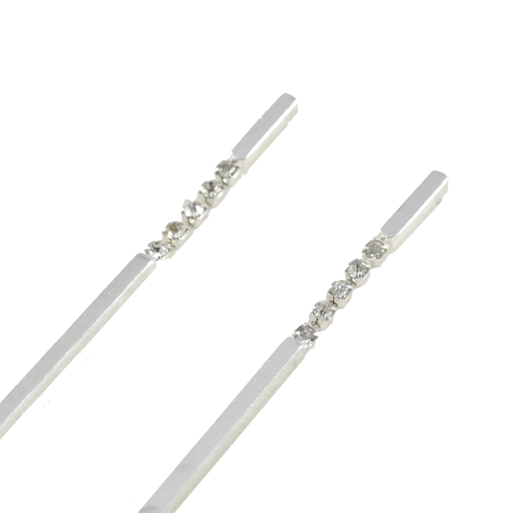 DROP BAR EARRINGS - product image