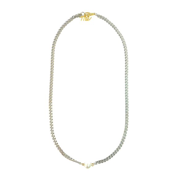STYLISH PEARL NECKLACE - product image