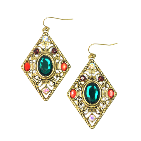 BOHEMIA,STYLE,EARRINGS,gem accessories, 2014 gem accessories, colorful gem earrings