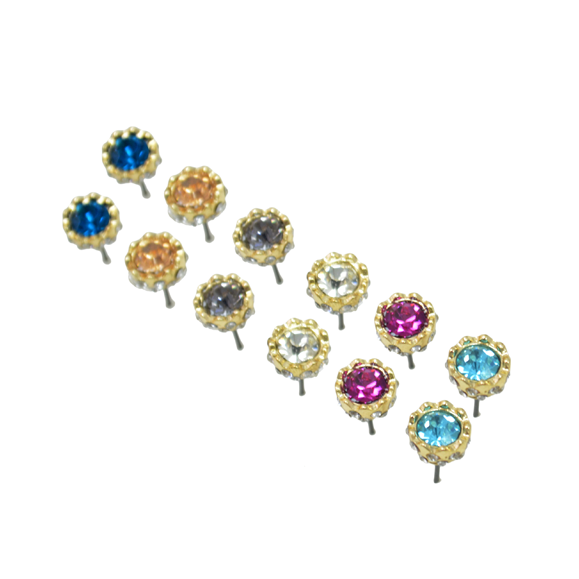 GLAMOURS CRYSTAL EARRINGS - product image