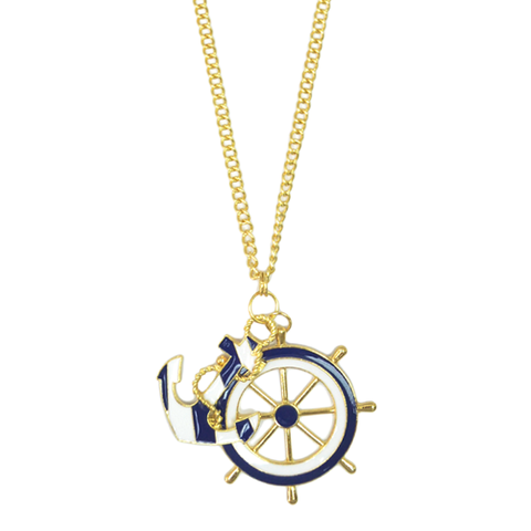 ANCHOR,NECKLACE,nautical style necklace, 2014 trend necklace, necklace gifts nautical, sailor neckklace