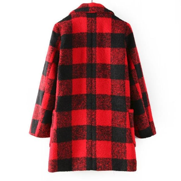 CLASSIC CHECK COAT - product image