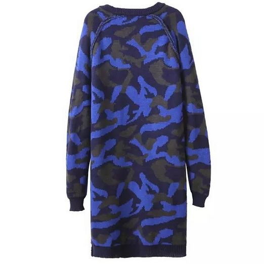 CAMOUFLAGE LONG CARDIGAN - product image