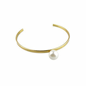 MINIMAL,STYLE,PEARL,BANGLE,PEARL BANGLE, SINGLE PEARL BANGLE