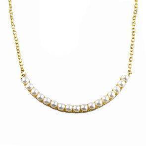 ARC PEARLS NECKLACE - product image