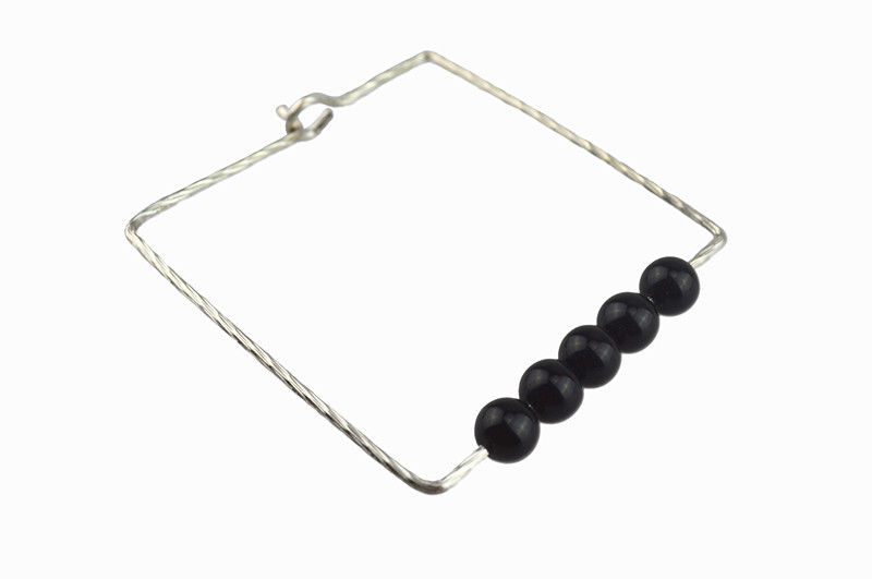 RECTANGLE PEARLS BANGLE - product image