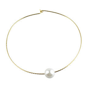 SINGLE PEARL COLLAR - product image