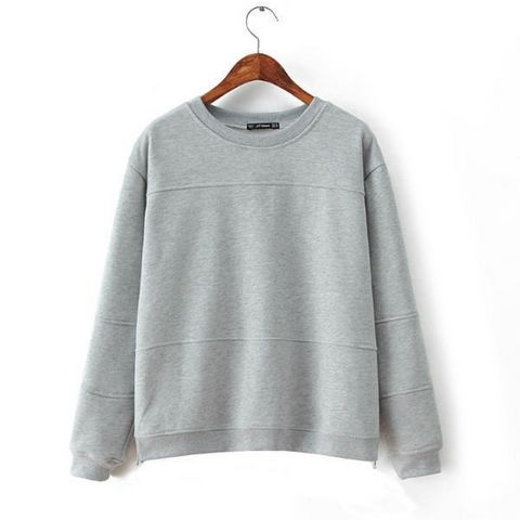 MINIMAL,JUMPER,GREY TONE JUMPER, GREY JUMPER