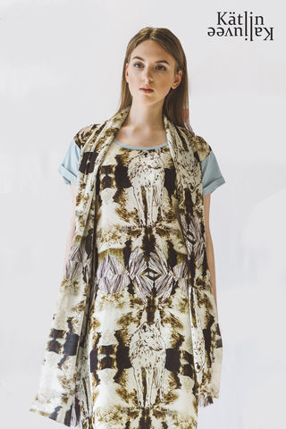 Standing,On,The,Top,Of,World,upcycled,silk-bamboo,tunic