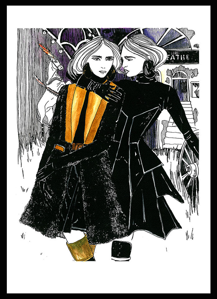 "Signed artprint ""Givenchy AW2012""  - product images  of"