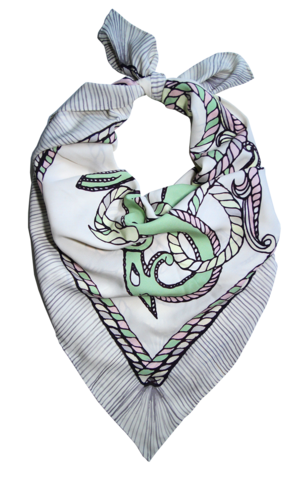 SEAHORSE,SCARF,silk, scarf, silk scarf, collection, buy, boutique, luxury scarf
