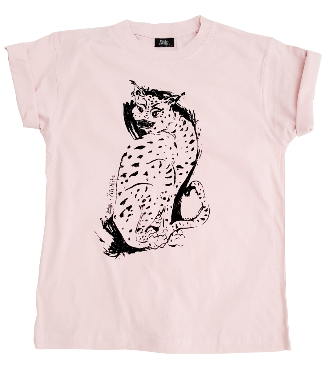 WILDLIFE T-SHIRT ROSE - product images  of