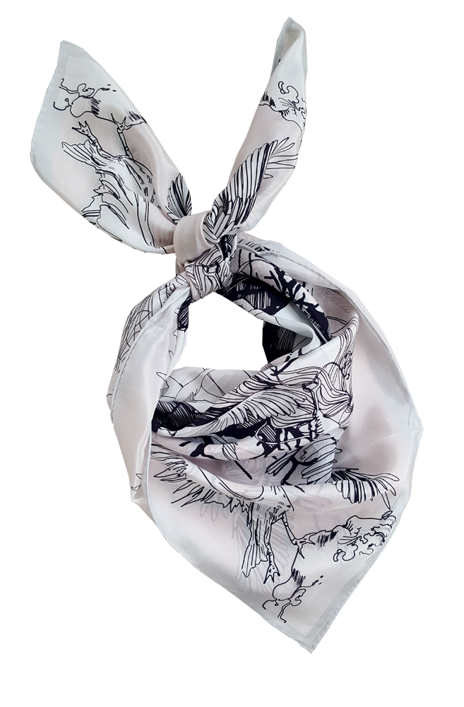 WILD BIRDS SCARF  - product images  of
