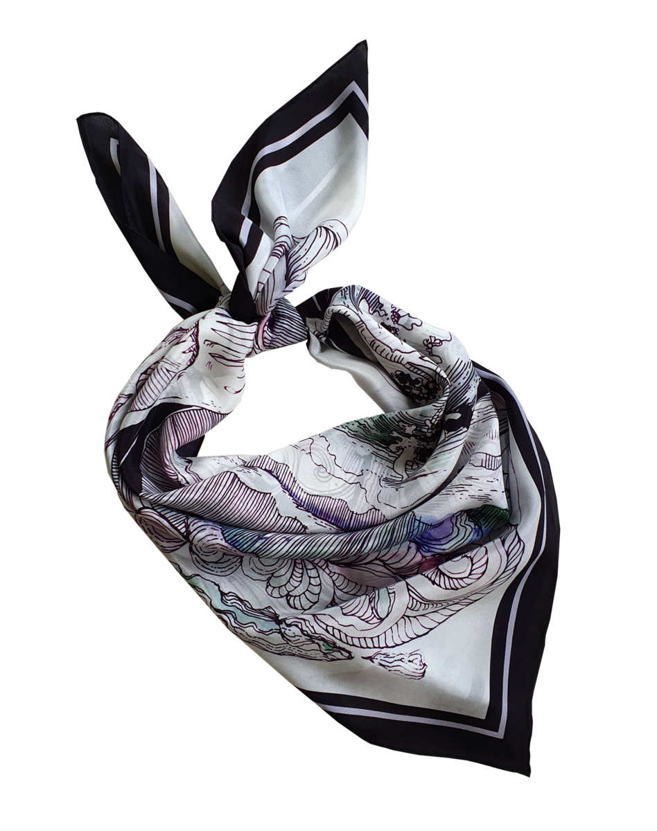 NEW MATSALU SILK SCARF  - product images  of