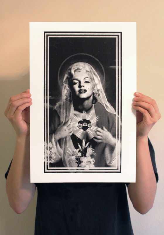 Immaculate Marilyn Print - product image