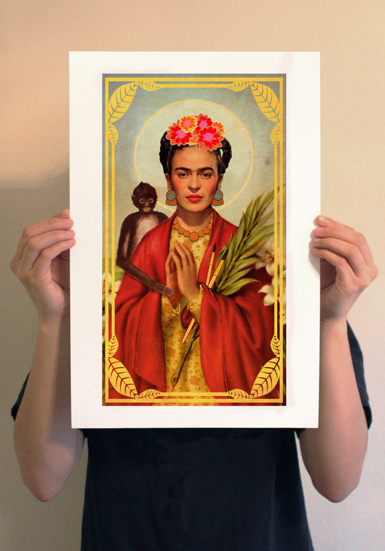Saint Frida Print - product image