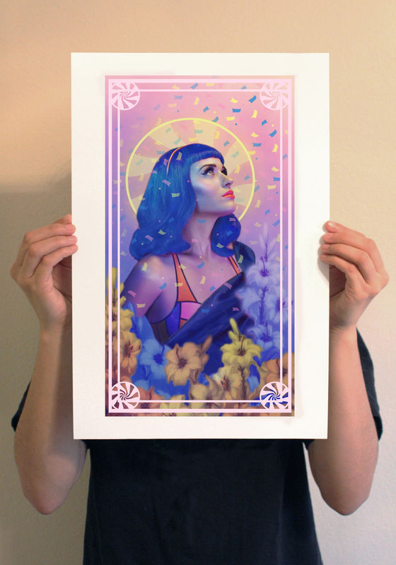 Saint Katy Print - product image