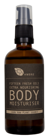 FIFTEEN,FRESH,OILS,EXTRA,NOURISHING,BODY,MOISTURISER,100ml,Bath and Beauty, Body, Lotion, skin care, raw, natural, organic, vegan,vegetarian, dry skin, body oil, body moisturiser, moisturiser