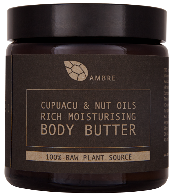 CUPUACU & NUT OILS RICH MOISTURISING BODY BUTTER 120ml - product images