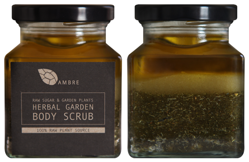 HERBAL GARDEN BODY SCRUB 200ml - product images