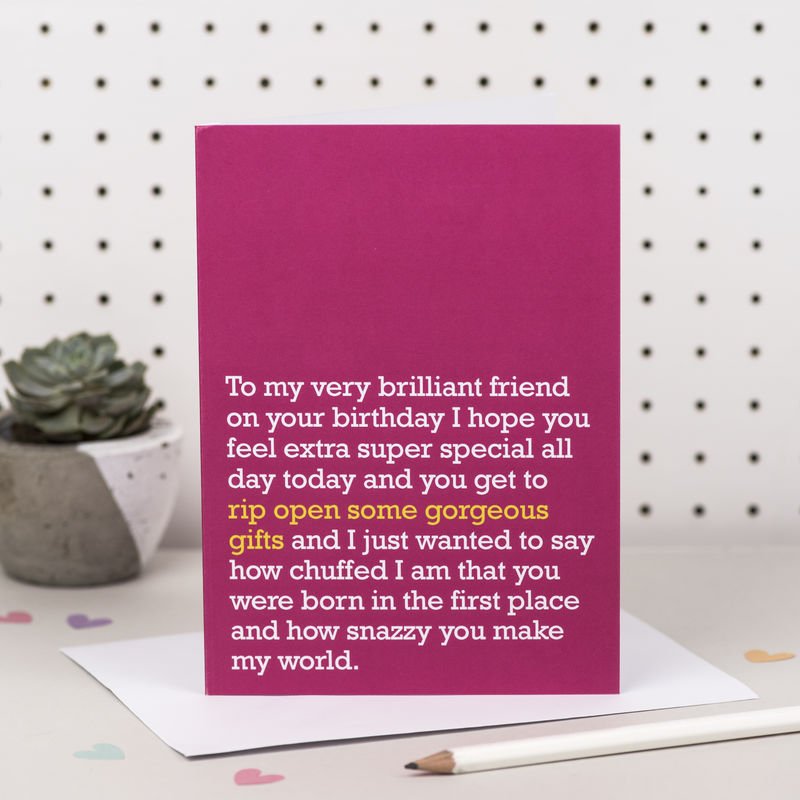 'Rip Open Some Gorgeous Gifts' Birthday Card - product images  of