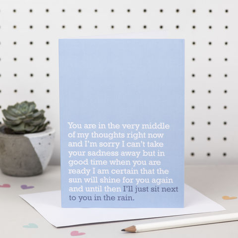 'I'll,Just,Sit,Next,To,You,In,The,Rain',Sympathy,Card