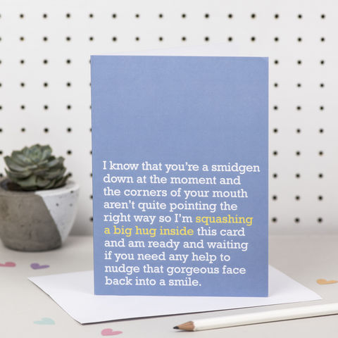 'Squashing,A,Big,Hug,Inside',Thinking,Of,You,Card