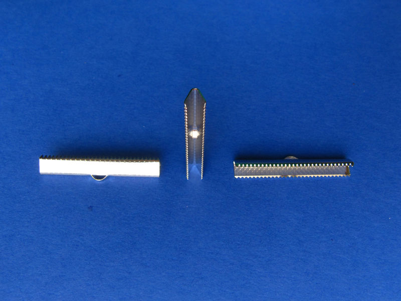 "38mm (1 1/2"") Ribbon Clamp End Crimps - product images  of"