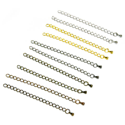 80mm,(3),Extension,Chains,for,Making,Necklaces,and,Bracelets,extension chains, extender chains