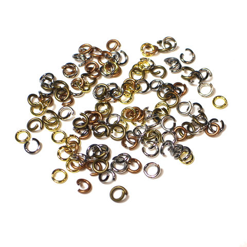 100,4mm,Lead,and,Nickel,Free,Open,Jump,Rings,open jump rings, jump rings