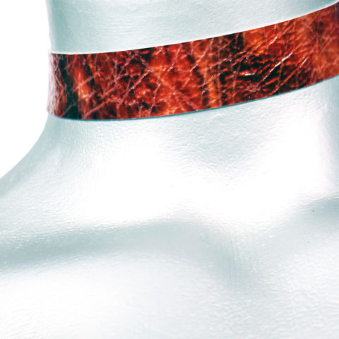 20mm,(3/4),Shiny,Red,Storm,Leather,Choker,Collar,Necklace,red leather choker, red choker, red ribbon choker, ribbon choker, leather choker, ribbon choker necklace, checkerboard choker