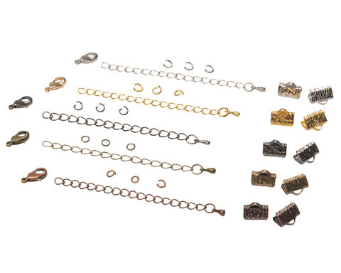 10mm,(3/8),Ribbon,Choker,Necklace,or,Bracelet,Findings,Kit,-,Artisan,Series, 10mm choker kit, choker kit, bracelet kit, jewelry kit, jewelry findings kit, gold, bronze, silver, copper, gunmetal, DIY jewelry, ribbon choker kit, ribbon bracelet kit, choker, bracelet, jewelry findings, womens, jewelry, handmade, handmade