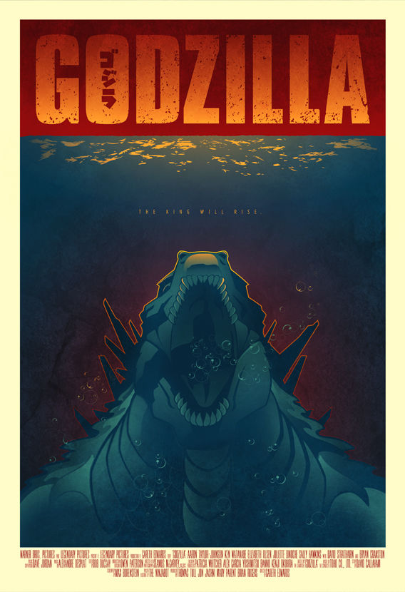 Godzilla - SDCC14 Exclusive - SOLD OUT - product image