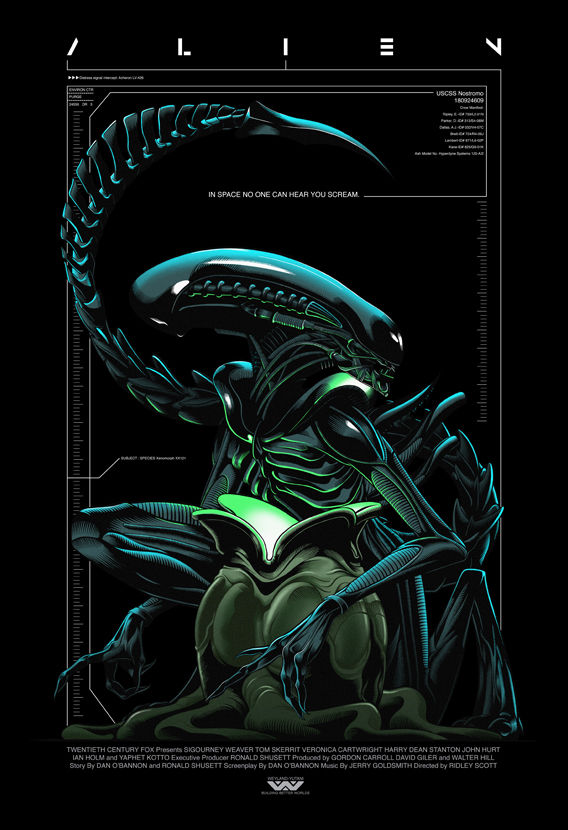 SOLD OUT - Alien - SDCC17 Embellished Limited Edition Exclusive - product image