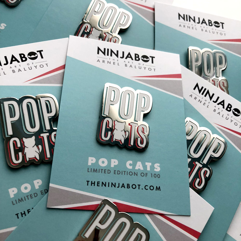Pop Cats - Enamel Pin - product images  of