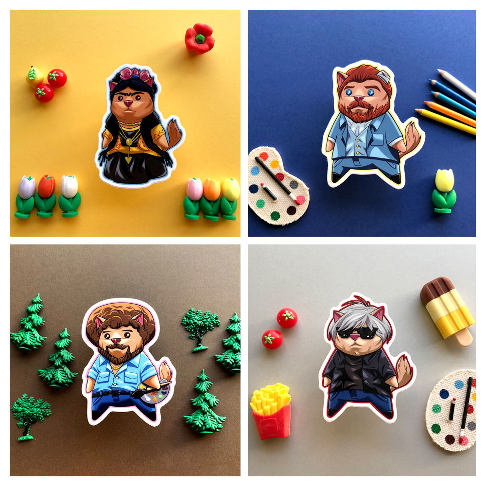 Painting Buddies - Sticker Pack - product image