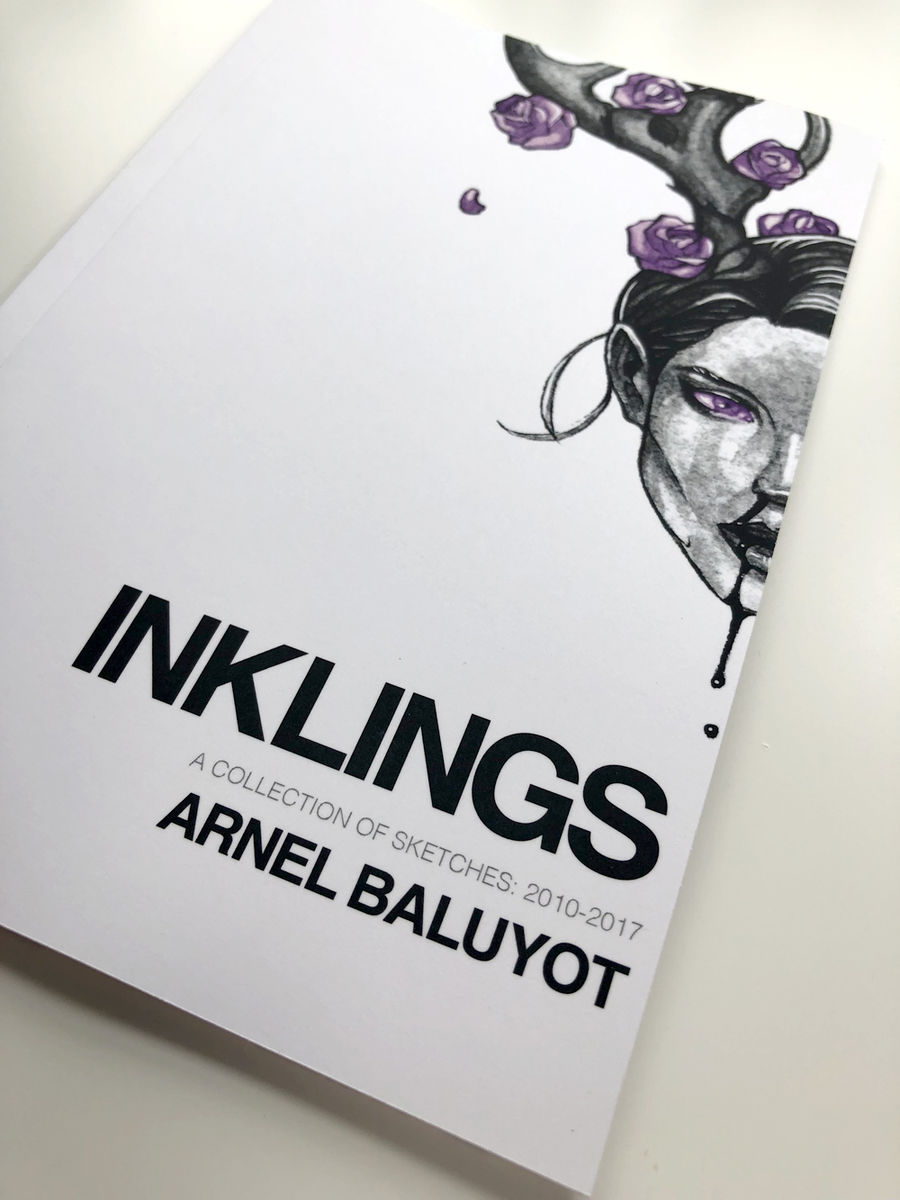 Inklings: A collection of sketches 2010-2017 by Arnel Baluyot - product image
