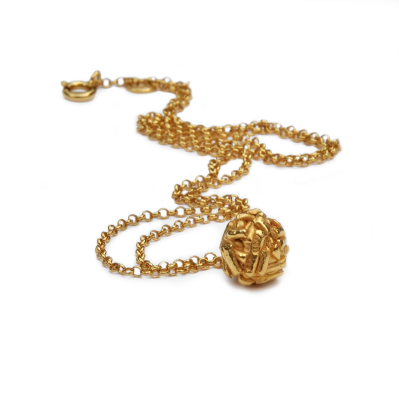 FREE SPIRIT ball pendant gold - product images  of