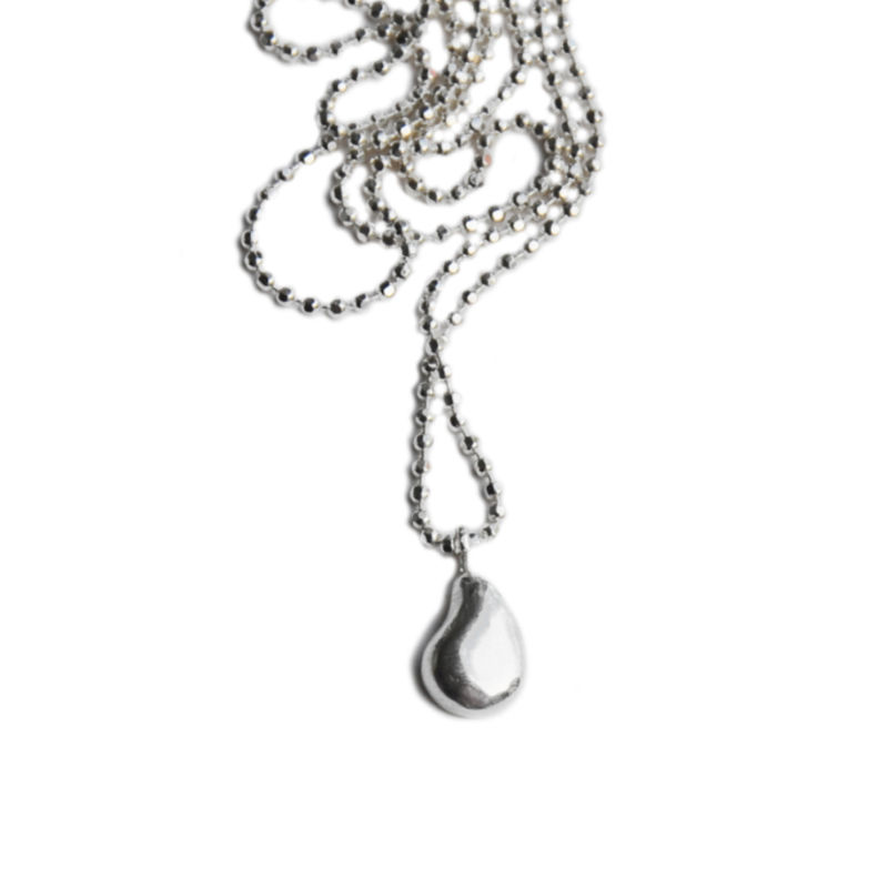 Silhouette pendant silver - product images  of
