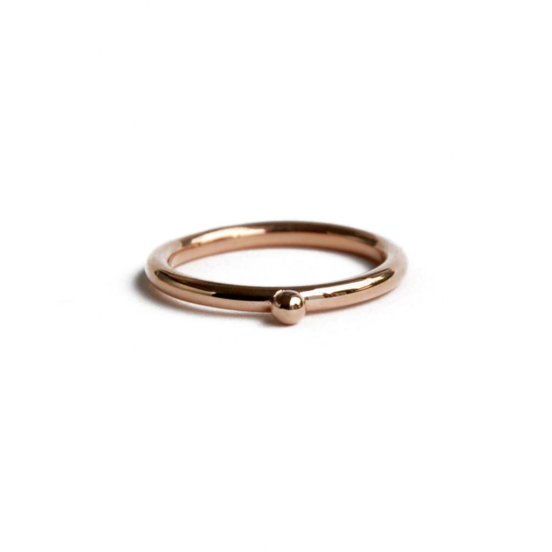 ORB stacking ring 9ct rose gold - product images  of
