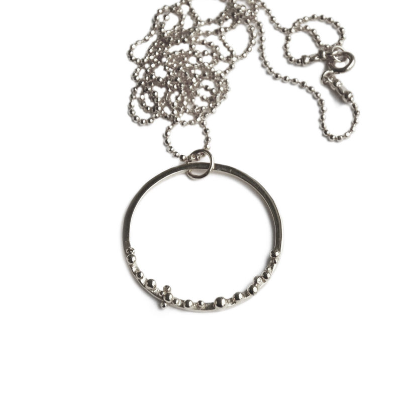 ORB hoop necklace - product images  of