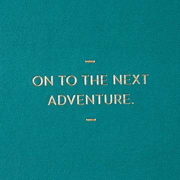 On,To,The,Next,Adventure,Journal,compendium, motto journal