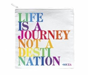 life,is,a,journey,pouch,quotable, pouch