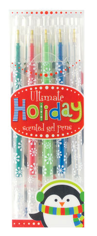 Ultimate,Holiday,Scented,Gel,Pens,gel pens, christmas, holiday, international arrivals