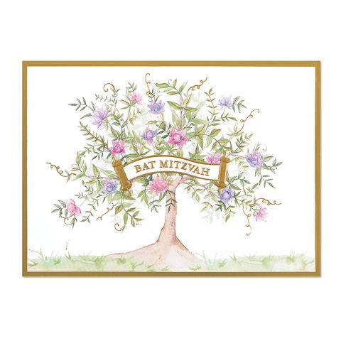 Barbat mitzvah cards collection anas papeterie greeting cards treeoflifebatmitzvahpapyrus handmade m4hsunfo