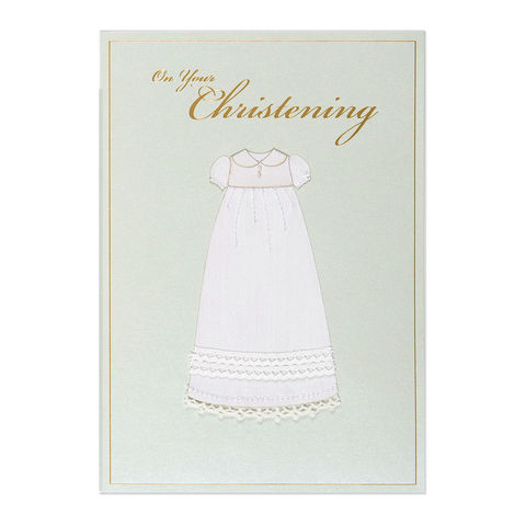 Handmade,Gown,papyrus, christening, handmade, greeting card, international, hong kong