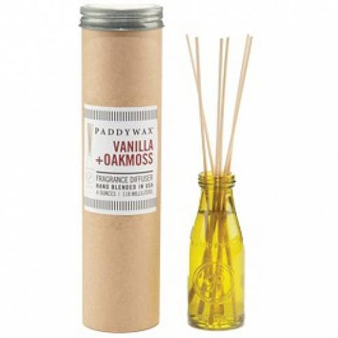 Vanilla,+,Oakmoss,Relish,Diffuser,paddywax, vanilla and oakmoss, relish, diffuser