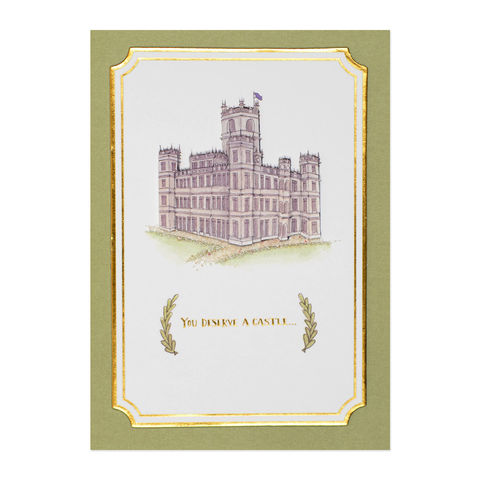 Castle,Sketch,papyrus, handmade, greeting, card, birthday, castle, sketch, international, hong kong