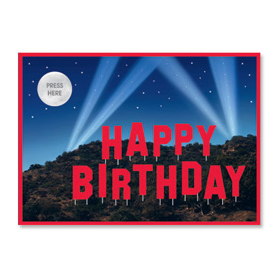 Happy,Birthday,with,Sound,&,Lights,papyrus, greeting, card, lights, sound, music, light up, pop up, birthday, international, hong kong
